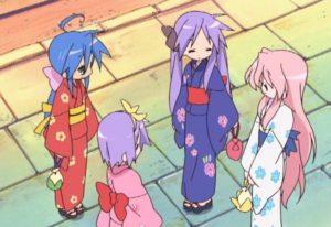 Lucky Star, Yukata, 浴衣