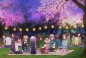 New Game!!, cherry blossom, 桜, 花見