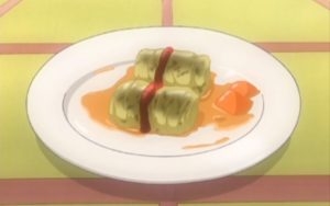 Aria the Animation, stuffed cabbage roll