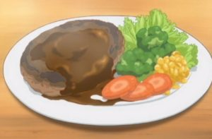 Clannad, hamburg steak