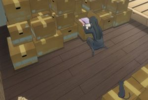 Flying Witch, CardBoard