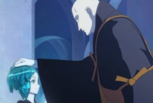 Land of the Lustrous, patting the head