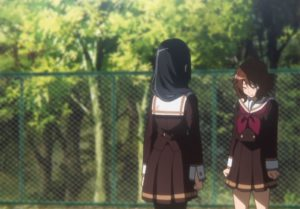 Sound! Euphonium 2, patting the head