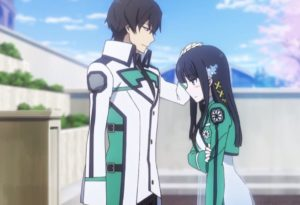 The Irregular at Magic High School, patting the head
