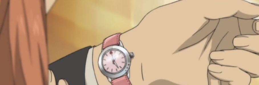 Why do Japanese women wear watches on the inside of their wrist?